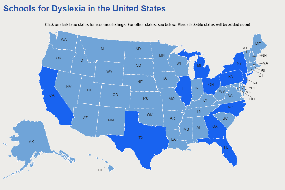 Dyslexia Reading Well, a Virtual Well of Reading Resources