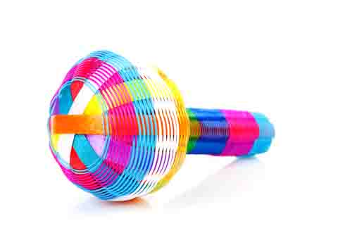 Multicoloured Rattle